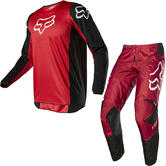 Fox Racing 2020 Youth 180 Prix Motocross Jersey & Pants Flame Red Kit