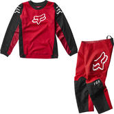 Fox Racing 2020 Kids 180 Prix Motocross Jersey & Pants Flame Red Kit
