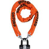 Oxford Heavy Duty Motorcycle Chain Lock 1.5m Chain & Lock Orange
