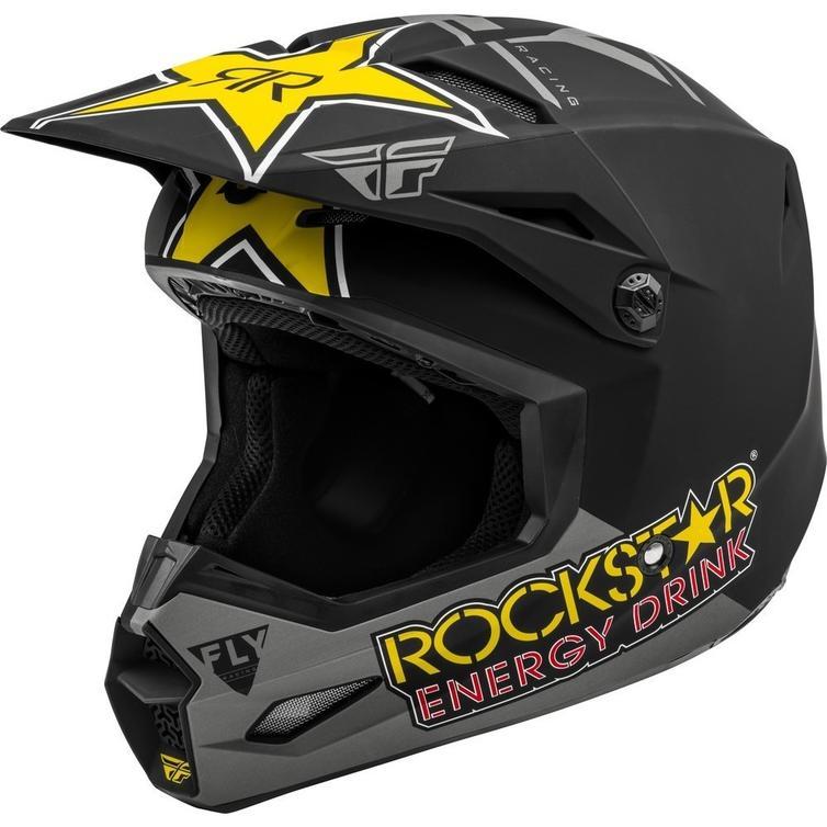 Fly Racing 2020 Kinetic Rockstar Motocross Helmet