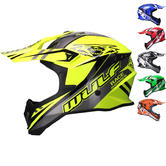 Wulf Race Series Motocross Helmet