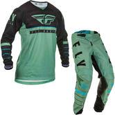 Fly Racing 2020 Kinetic K120 Motocross Jersey & Pants Sage Green Black Kit