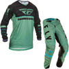 Fly Racing 2020 Kinetic K120 Motocross Jersey & Pants Sage Green Black Kit Thumbnail 1