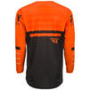 Fly Racing 2020 Kinetic K120 Motocross Jersey & Pants Orange Black White Kit Thumbnail 6