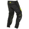 Fly Racing 2020 Kinetic K220 Motocross Jersey & Pants Black Grey Hi-Vis Kit Thumbnail 9