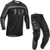 Fly Racing 2020 F-16 Motocross Jersey & Pants Black Grey Kit Thumbnail 3