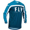 Fly Racing 2020 F-16 Motocross Jersey & Pants Navy Blue White Kit Thumbnail 4