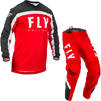 Fly Racing 2020 F-16 Motocross Jersey & Pants Red Black White Kit Thumbnail 1