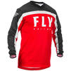 Fly Racing 2020 F-16 Motocross Jersey & Pants Red Black White Kit Thumbnail 4
