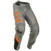 Fly Racing 2020 F-16 Motocross Jersey & Pants Grey Black Orange Kit Thumbnail 7
