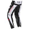 Fly Racing 2020 Kinetic K120 Youth Motocross Jersey & Pants Black White Red Kit Thumbnail 8