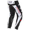 Fly Racing 2020 Kinetic K120 Youth Motocross Jersey & Pants Black White Red Kit Thumbnail 9
