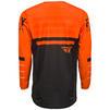 Fly Racing 2020 Kinetic K120 Youth Motocross Jersey & Pants Orange Black White Kit Thumbnail 6