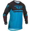 Fly Racing 2020 Kinetic K120 Youth Motocross Jersey & Pants Blue Black Red Kit Thumbnail 4