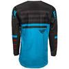 Fly Racing 2020 Kinetic K120 Youth Motocross Jersey & Pants Blue Black Red Kit Thumbnail 6