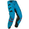 Fly Racing 2020 Kinetic K120 Youth Motocross Jersey & Pants Blue Black Red Kit Thumbnail 7