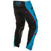 Fly Racing 2020 Kinetic K120 Youth Motocross Jersey & Pants Blue Black Red Kit Thumbnail 9