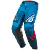Fly Racing 2020 Kinetic K220 Youth Motocross Jersey & Pants Blue White Red Kit Thumbnail 5
