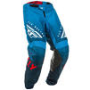 Fly Racing 2020 Kinetic K220 Youth Motocross Jersey & Pants Blue White Red Kit Thumbnail 7