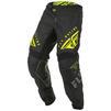 Fly Racing 2020 Kinetic K220 Youth Motocross Jersey & Pants Black Grey Hi-Vis Kit Thumbnail 5