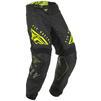 Fly Racing 2020 Kinetic K220 Youth Motocross Jersey & Pants Black Grey Hi-Vis Kit Thumbnail 7