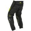 Fly Racing 2020 Kinetic K220 Youth Motocross Jersey & Pants Black Grey Hi-Vis Kit Thumbnail 8