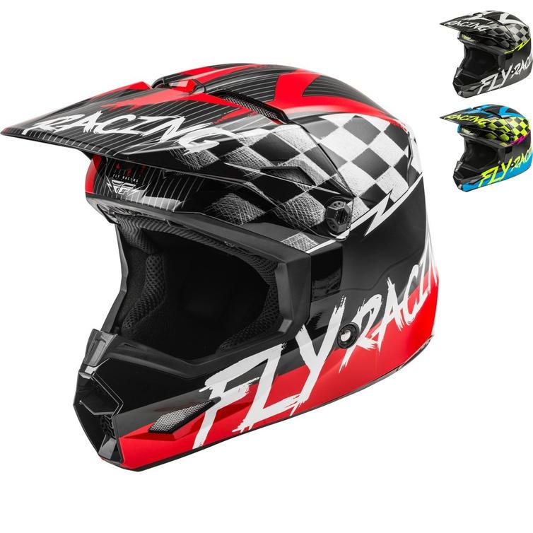 Fly Racing 2020 Kinetic Sketch Youth Motocross Helmet