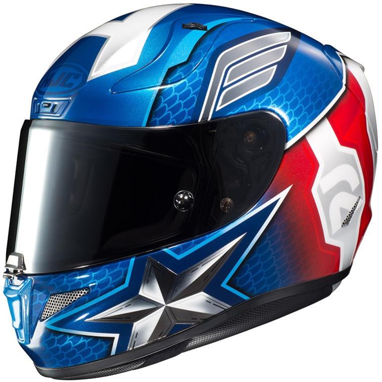 HJC RPHA 11 Captain America Motorcycle Helmet