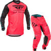Fly Racing 2020 Lite Hydrogen Monster Energy Cup SE Motocross Jersey & Pants Coral Black Blue Kit Thumbnail 2
