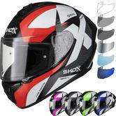 Shox Sniper Evo Sharpe Motorcycle Helmet & Visor