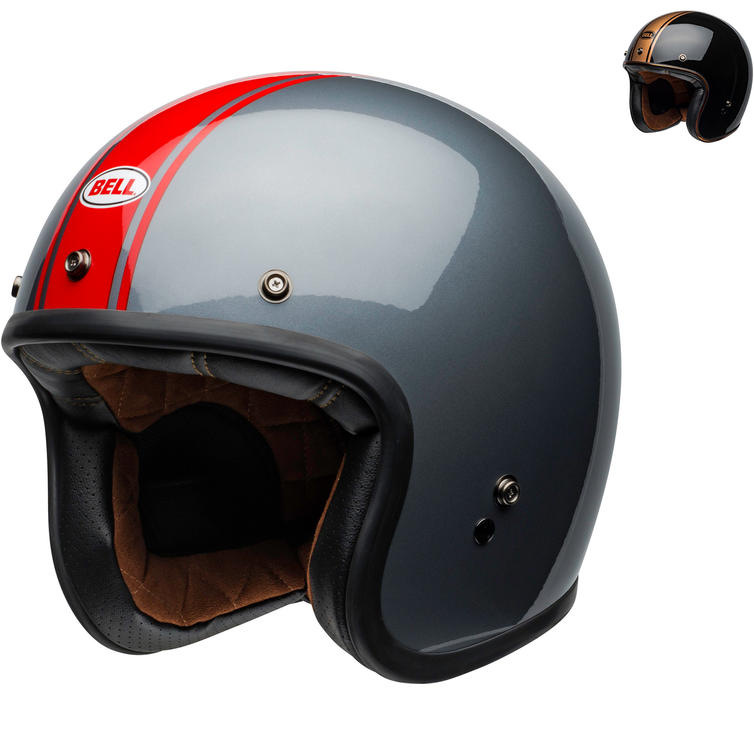 Bell Custom 500 DLX Rally Open Face Motorcycle Helmet
