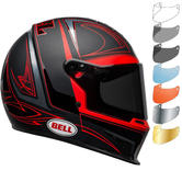 Bell Eliminator Hart Luck Motorcycle Helmet & Visor