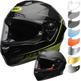 Bell Race Star Flex DLX Velocity Motorcycle Helmet & Visor