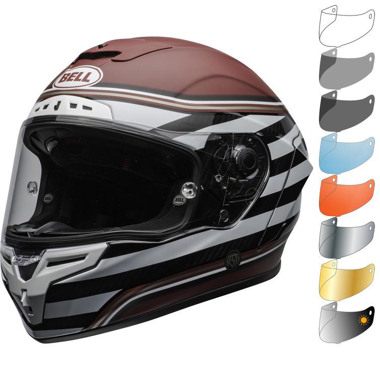 Bell Race Star Flex DLX RSD The Zone Motorcycle Helmet & Visor