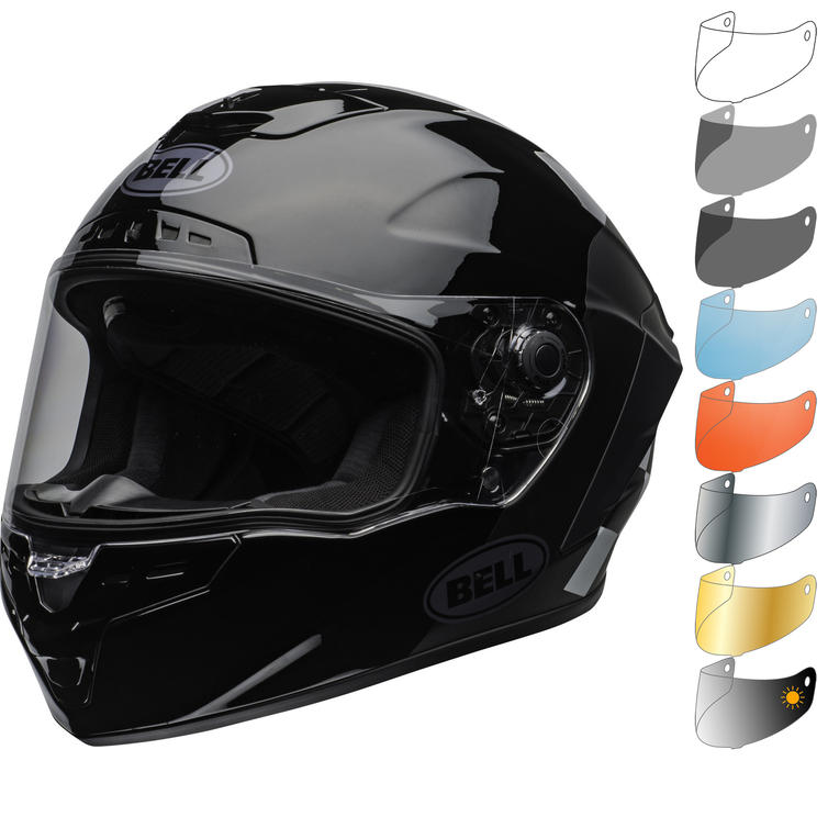 Bell Star MIPS DLX Lux Checkers Motorcycle Helmet & Visor