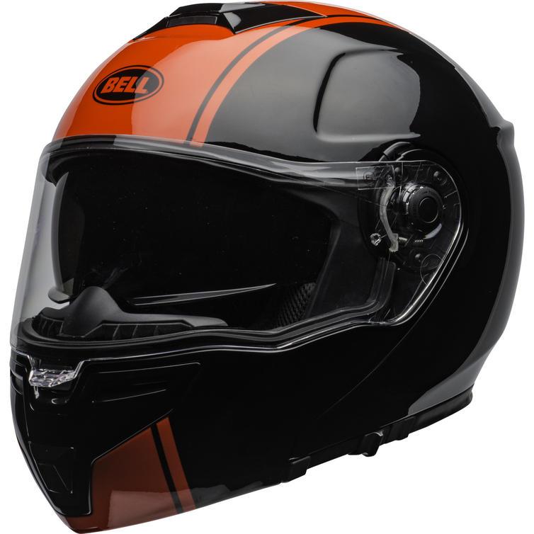 Bell SRT Modular Ribbon Flip Front Motorcycle Helmet