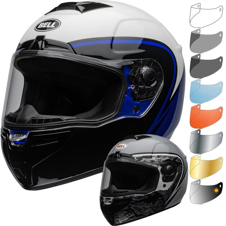 Bell SRT Assassin Motorcycle Helmet & Visor