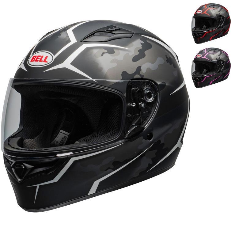 Bell Qualifier Stealth Motorcycle Helmet