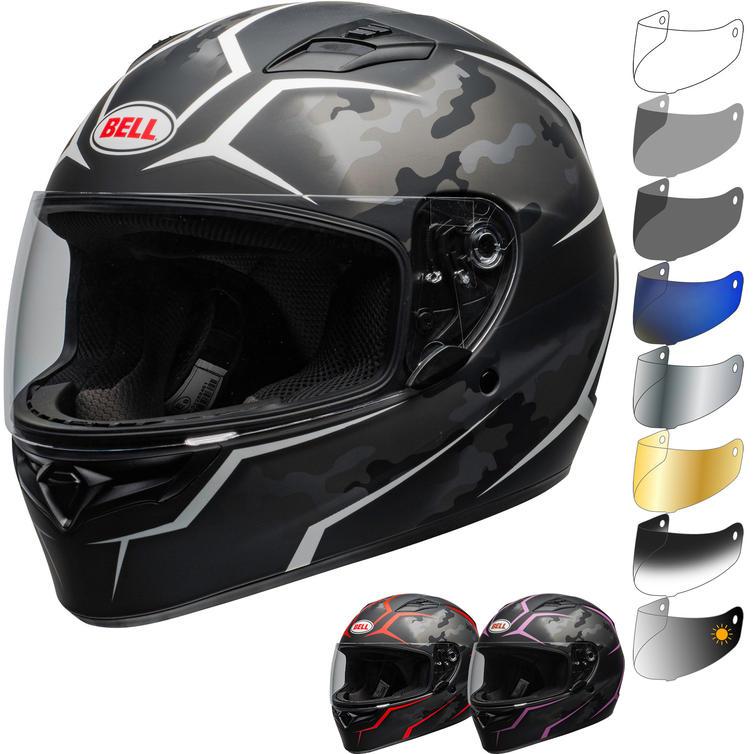 Bell Qualifier Stealth Motorcycle Helmet & Visor