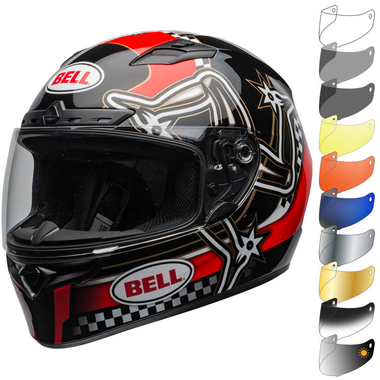 Bell Qualifier DLX MIPS Isle Of Man 2020 Motorcycle Helmet & Visor