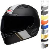 Bell Qualifier DLX MIPS Vitesse Motorcycle Helmet & Visor