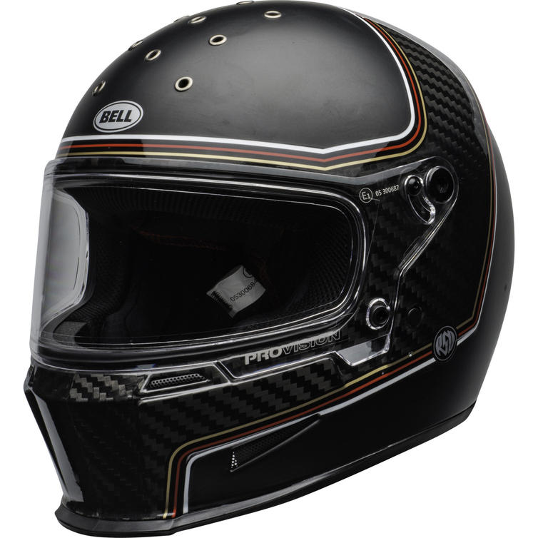 Bell Eliminator Carbon RSD The Charge Motorcycle Helmet