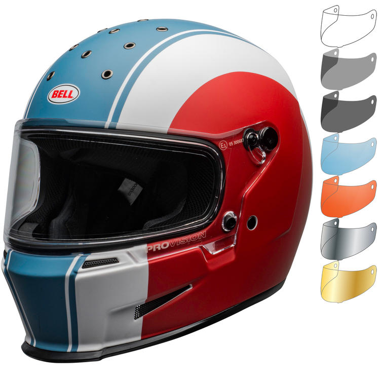 Bell Eliminator Slayer Motorcycle Helmet & Visor