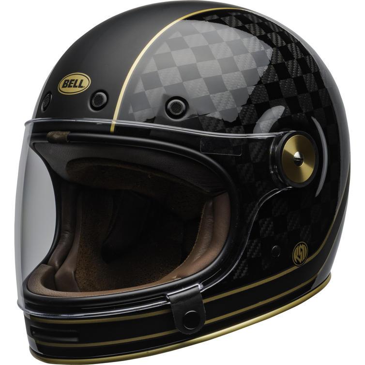 Bell Bullitt Carbon RSD Check It Motorcycle Helmet