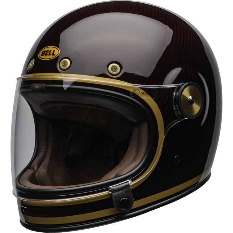 Bell Bullitt Carbon Transcend Motorcycle Helmet