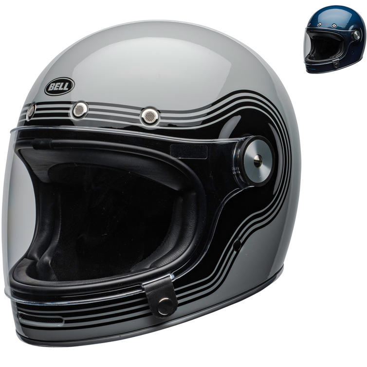 Bell Bullitt DLX Flow Motorcycle Helmet