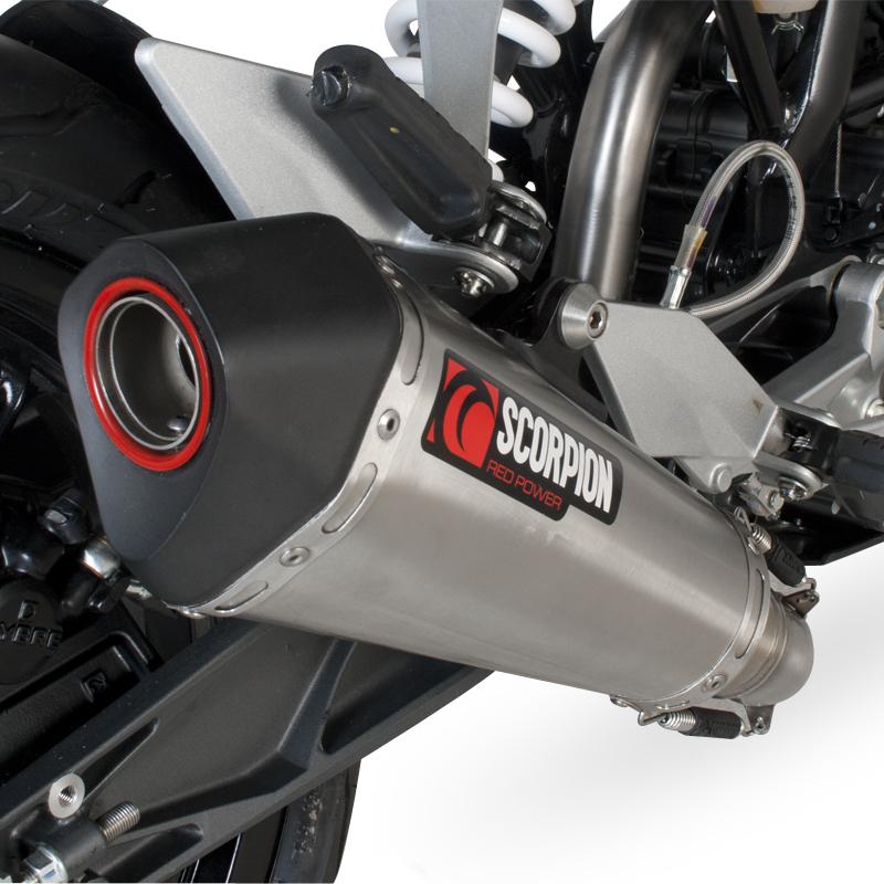 Sentinel Rkt72ceo Scorpion Serket Taper Carbon Oval Exhaust KTM Duke 125 11current: Duke 250 Exhaust At Woreks.co