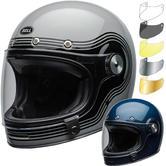 Bell Bullitt DLX Flow Motorcycle Helmet & Visor