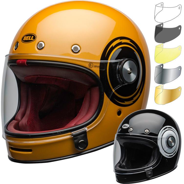 Bell Bullitt DLX Bolt Motorcycle Helmet & Visor