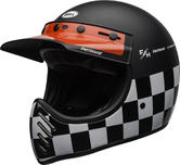 Bell Moto-3 Fasthouse Checkers Motorcycle Helmet